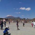 Pompeii – Forum met de Vesuvius op de achtergrond