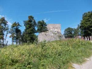 Het kasteel (het leek meer op een bunker vond ik, het was een viekant blok)
